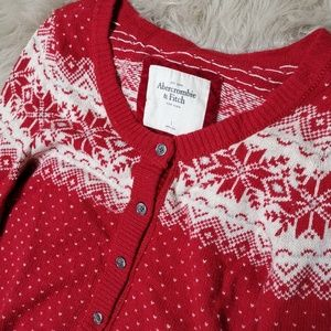 Abercrombie holiday sweater